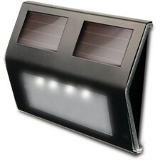 Decorative Solar 4-Light Deck Light (Set of 4)