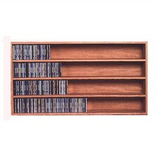 400 Series 472 CD Wall Mounted Multimedia Storage Rack