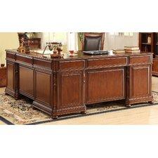 Bristol Court L-Shaped Executive Desk