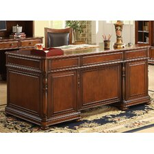 Bristol Court Executive Desk with 7 Drawers