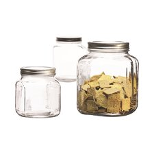 3 Piece Cookie jar set