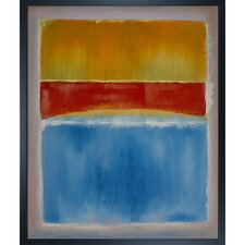 Untitled by Mark Rothko Framed Painting Print on Canvas