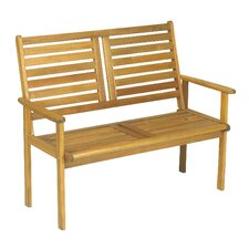 Napoli 2 Seater Wooden Bench