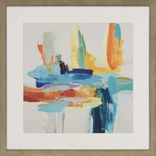 Synergy II by Hibberd Framed Painting Print