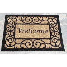 Amazing Deal Anti Bacterial Rubber Back Doormat Non Skid Slip Rug