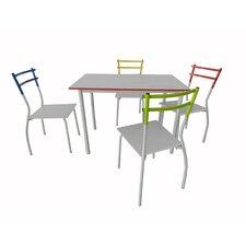 Essgruppe Forbes mit 4 Stühlen