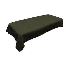 Rectangular Dyed Burlap Tablecloth