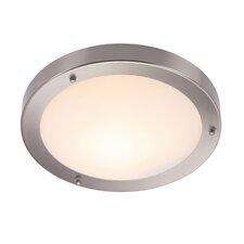 Grand Portico 1 Light Flush Ceiling Light