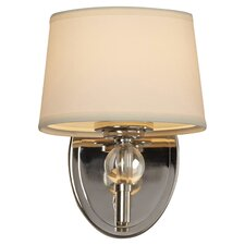 Gus Crystal Ball 1-Light Wall Sconce