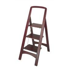 Rockford 3-Step Wood Step Stool with 225 lb. Load Capacity