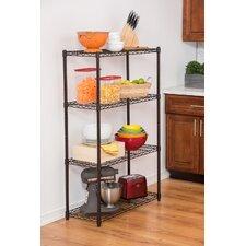 "NSF Indoor Wire 54"" H 3 Shelf Shelving Unit Starter"