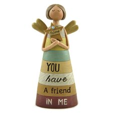 You Have a Friend Angel with Star Figurine