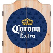 Corona Griffin Dartboard and Cabinet Set