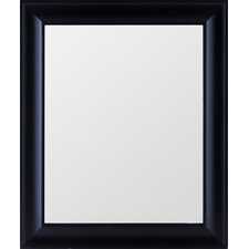 Black Rectangle Wide Mirror