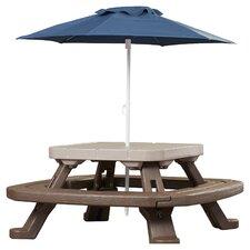Endless Adventures Fold 'n Store Umbrella Picnic Table