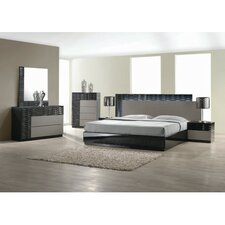 Quick View Romania Platform 5 Piece Bedroom Set