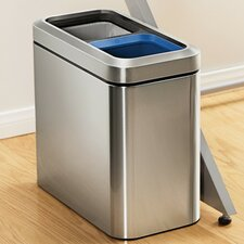 20-Litre Slim Open Recycler with Removable Inner Buckets