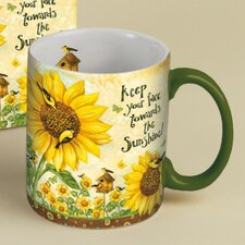 14 oz. Sunflowers Mug