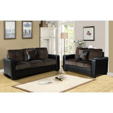 Della 2 Piece Living Room Set