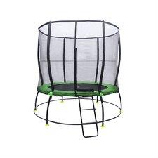 Hyper Jump 8' Round Trampoline with Safety Enclosure