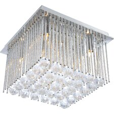 6 Light Semi-Flush Ceiling Light