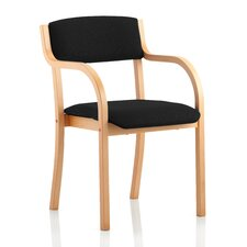 Seville Mid-Back Visitor Chair with Arms