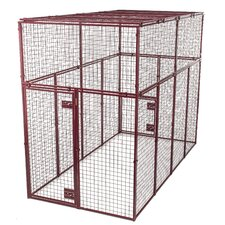 Standard Duty Flat Covered Animal Cage