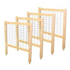 2' x 1.8' Critter Guard Garden Fence (Set of 4)