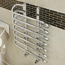 Wall Mounted Water-Fed Heated Towel Rail