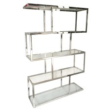 "Glazier 71"" Accent Shelves Bookcase"