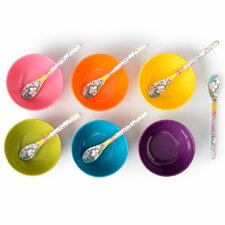10 oz. Melamine Mini Bowl 6 Piece Set (Set of 6)