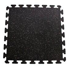 Sports Flooring Interlocking Recycled Rubber Tiles