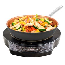 """PIC Gold 12"""" Induction Cooktop with 1 Burner"""