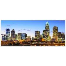 Charlotte City Skyline Photographic Print
