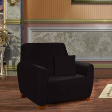 Armchair Box Cushion Slipcover  by ELEGANT COMFORT