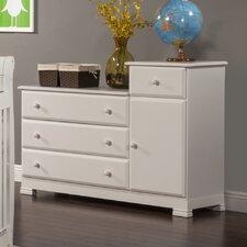 4 Drawer Combo Dresser
