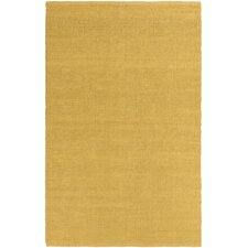 HawaII Jane Hand-Woven Gold Area Rug