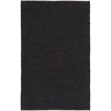 Purity Sydney Hand-Woven Black Area Rug