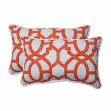 Bushey Outdoor Lumbar Pillow (Set of 2)