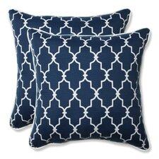 Garden Gate Outdoor/Indoor Throw Pillow (Set of 2)