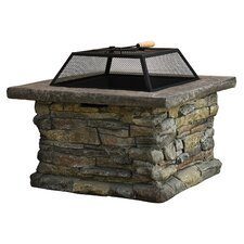 Colton Concrete Wood Burning Fire Pit