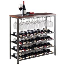 Michelle 40 Bottle Floor Wine Rack