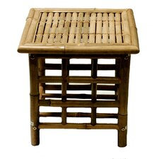 Porter Bamboo Square Side Table