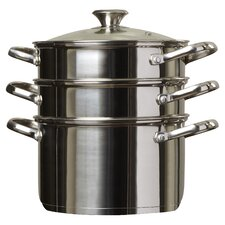 4 Piece Stainless Steel Multi Pot Set