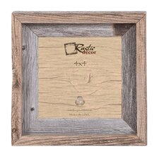 quick view signature reclaimed barn wood wall picture frame by rustic decor