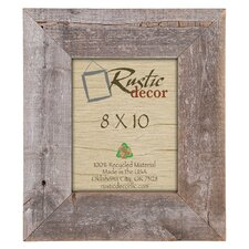 Barn Wood Reclaimed Wood Extra Wide Wall Picture Frame