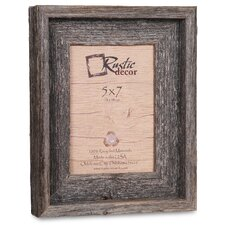 barn wood reclaimed wood signature picture frame