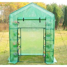 Walk in Garden 0.7m W x 1m D Greenhouse
