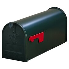 York Place Post Mounted Mailbox