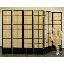 Raumteiler Bamboo, 6-teilig, 179 x 245 cm